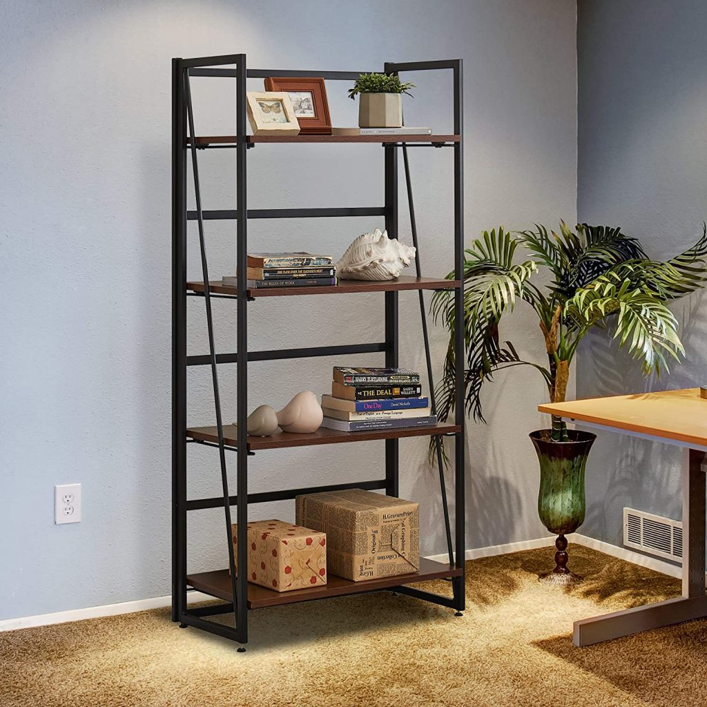 Stand shelves for office