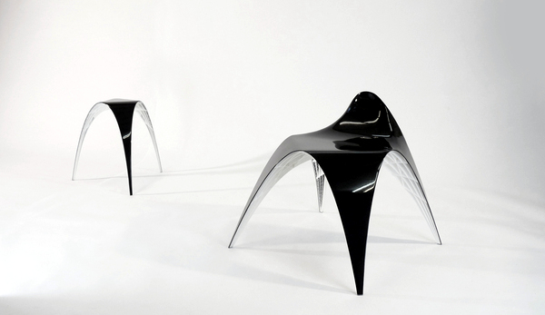 Designer pieces of furniture